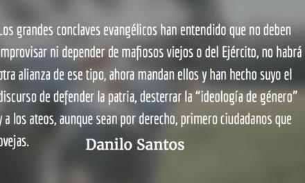 Ciudadano ateo. Danilo Santos.