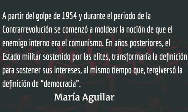 Buscando paz en la impunidad III. María Aguilar.