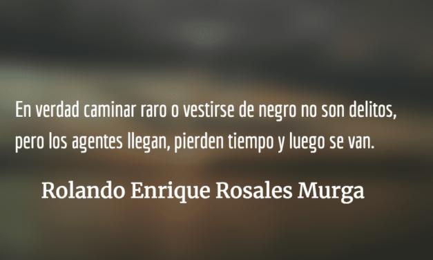 Viene el lobo. Rolando Enrique Rosales Murga.