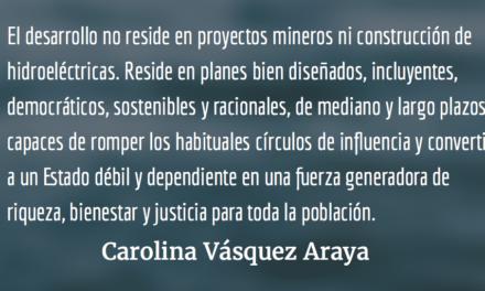 Los excesos delpoder. Carolina Vásquez Araya.