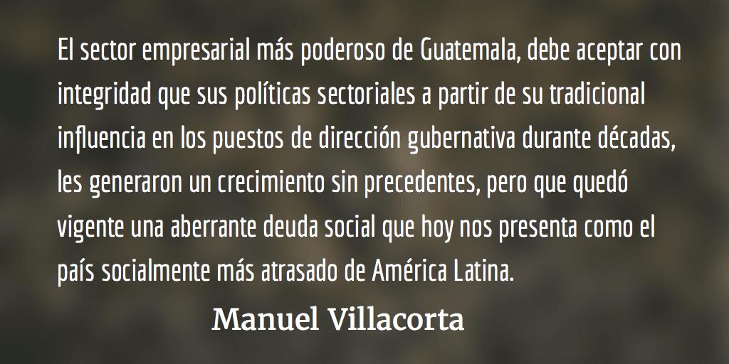 La ruta política de nuestro pueblo. Manuel Villacorta.