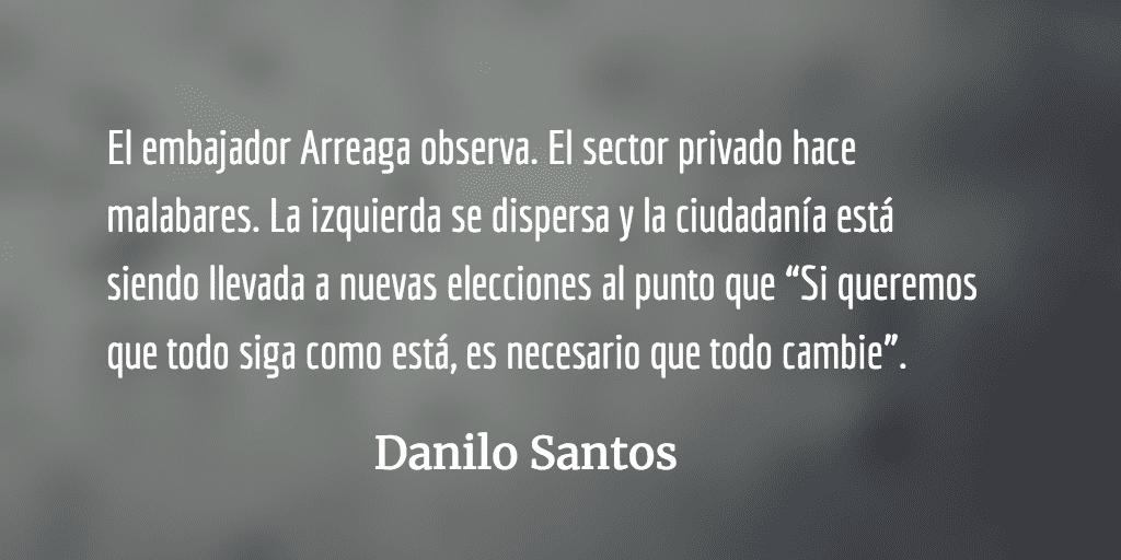 Gatopardismo. Danilo Santos.