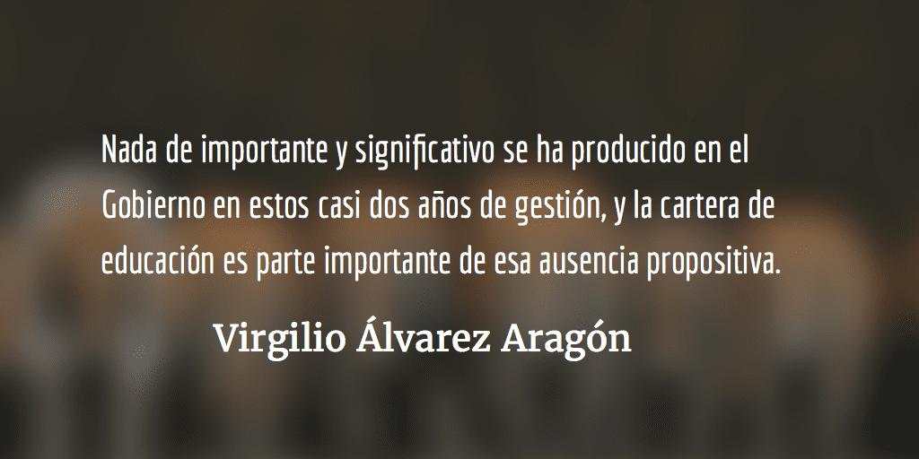 La ilegal reforma normalista. Virgilio Álvarez Aragón.