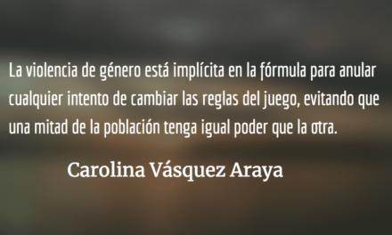 El mito de la civilización. Carolina Vásquez Araya.