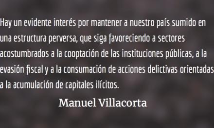 Desafío político y unidad popular. Manuel Villacorta.