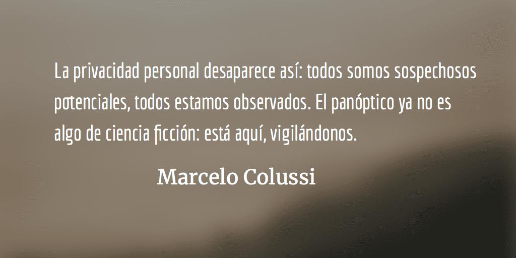 Estados Unidos vigila. Marcelo Colussi.