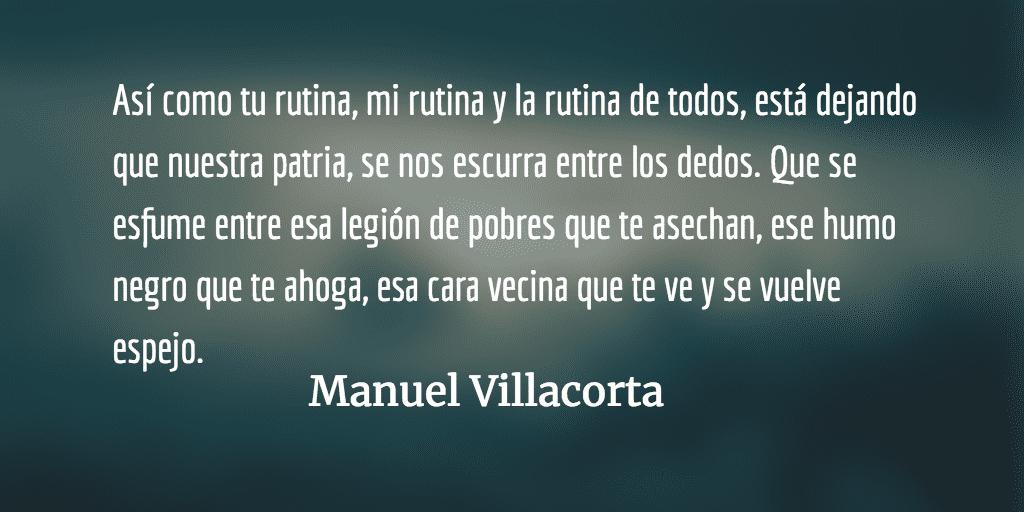 Carta abierta al ciudadano rebelde. Manuel Villacorta.
