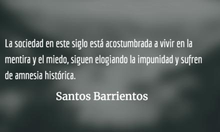 La industria de la violencia: una mirada a la violencia contra la mujer. Santos Barrientos.