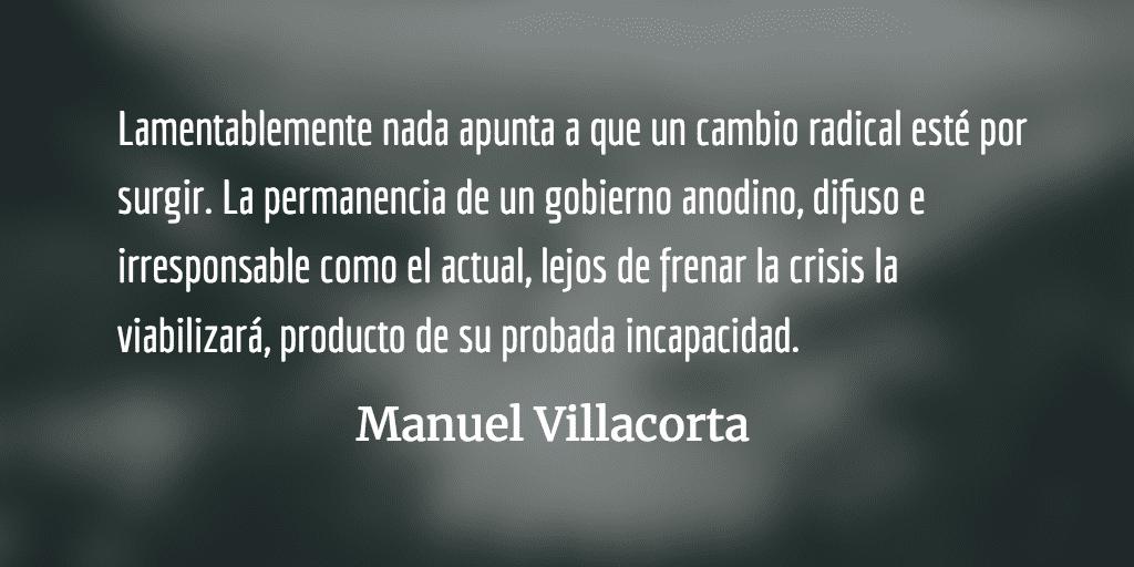 2017: un país sin rumbo y sin objetivos. Manuel Villacorta.