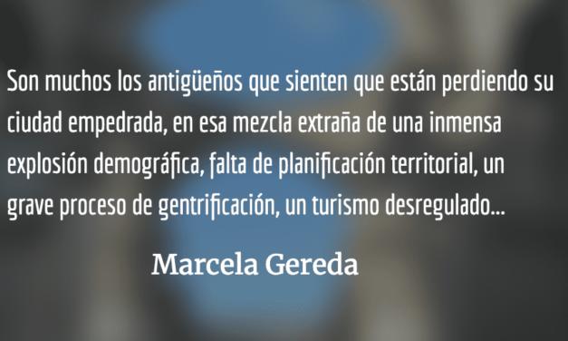 Necesidad de regular los impactos del turismo en La Antigua. Marcela Gereda.
