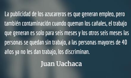 Denuncia campesina en Guatemala. Marcelo Colussi.