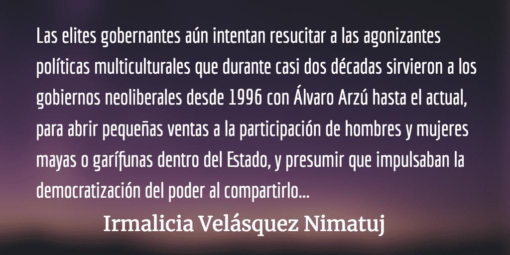 La utilización de Francisco Tambriz por el FCN. Irmalicia Velásquez Nimatuj.
