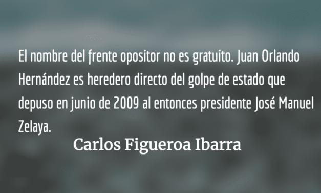 Honduras, malos presagios. Carlos Figueroa Ibarra.