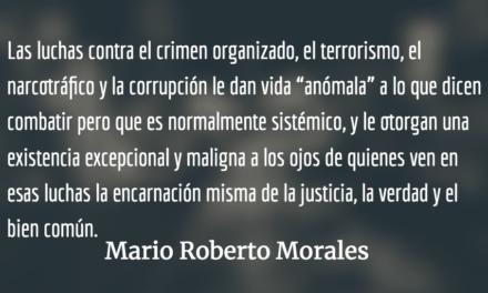 Amanecer en Ciudad Gótica. Mario Roberto Morales.