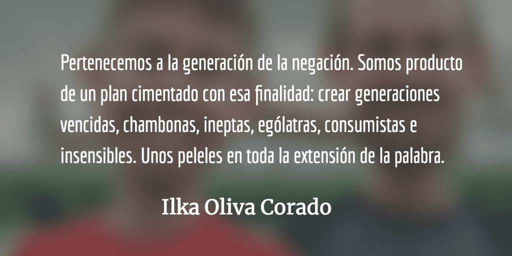 Generaciones sin memoria. Ilka Oliva Corado.