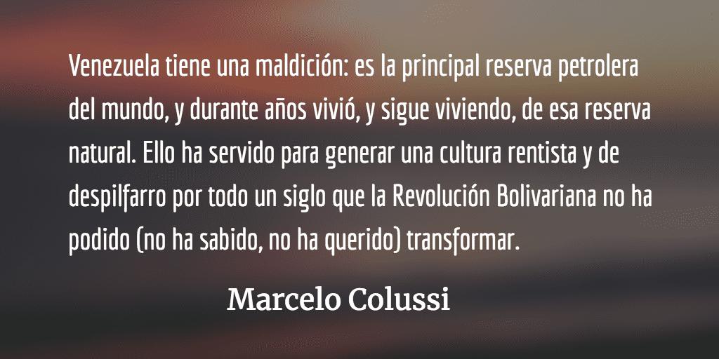 Venezuela: ¿se puede construir el socialismo sin socialismo? Marcelo Colussi