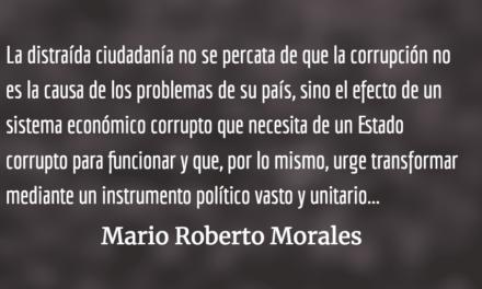 Un macabro juego de pelota. Mario Roberto Morales.