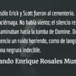 Los profanadores de tumbas. Rolando Enrique Rosales Murga.