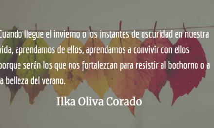 El invierno como sosiego y fortalecimiento. Ilka Oliva Corado.