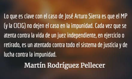 El asesinato más peligroso para el MP. Martín Rodríguez Pellecer.