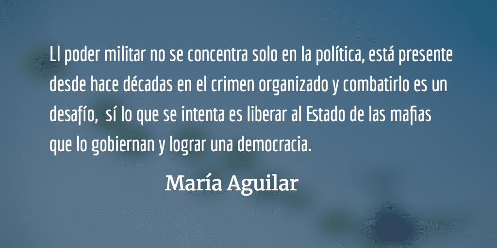 Buscando paz en la impunidad VII. María Aguilar.