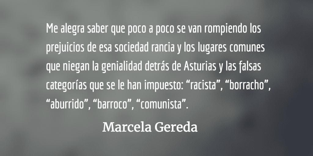 Empaparnos de Asturias. Marcela Gereda.