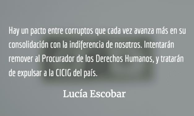 Momentos tensos. Lucía Escobar.