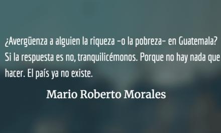 El país que ya no existe. Mario Roberto Morales.