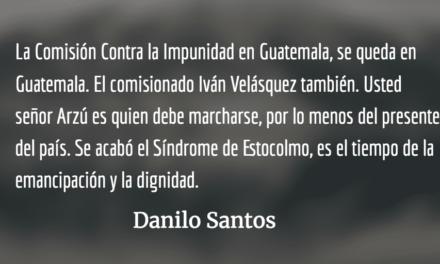 «RESPUESTA»: Iván se queda. Danilo Santos.