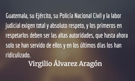 El país no es set de grabación. Virgilio Álvarez Aragón.