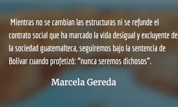 """""""Usted no sabe quién soy yo"""". Marcela Gereda."""