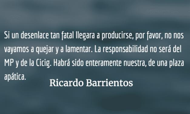 Advertencia: el pacto de corruptos puede ganar. Ricardo Barrientos.