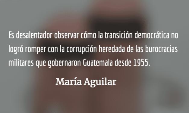 Democracia perversa. María Aguilar.