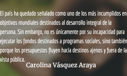 Una ventana hacia la nada. Carolina Vásquez Araya.