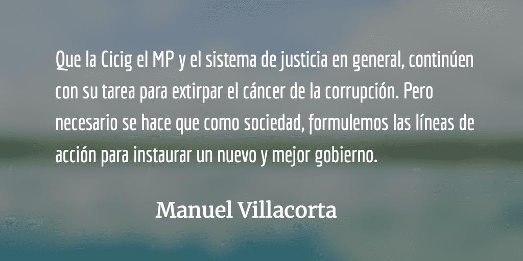 MP y Cicig a lo suyo, nosotros a lo nuestro. Manuel Villacorta.