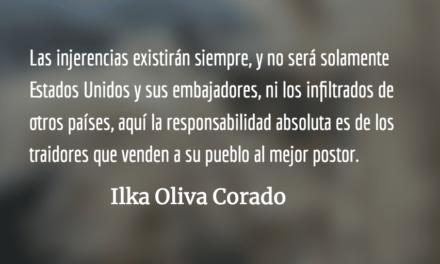 América Latina retrocede cien años. Ilka Oliva Corado.