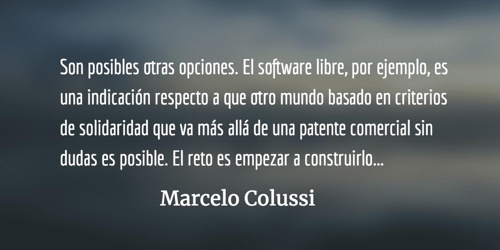 Trade mark. Marcelo Colussi.