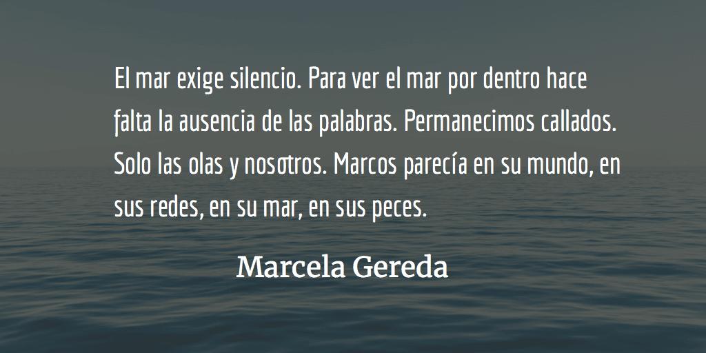 Marcos, el pescador. Marcela Gereda.