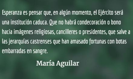 La esperanza en la resistencia. María Aguilar.