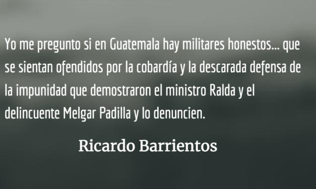 Impunidad militar. Ricardo Barrientos.
