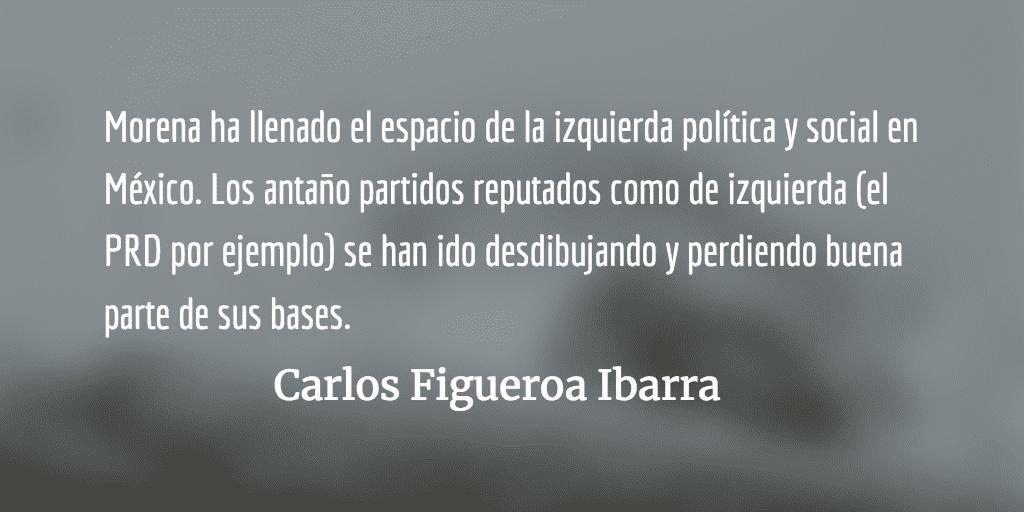 La política de alianzas de Morena.  Carlos Figueroa Ibarra.