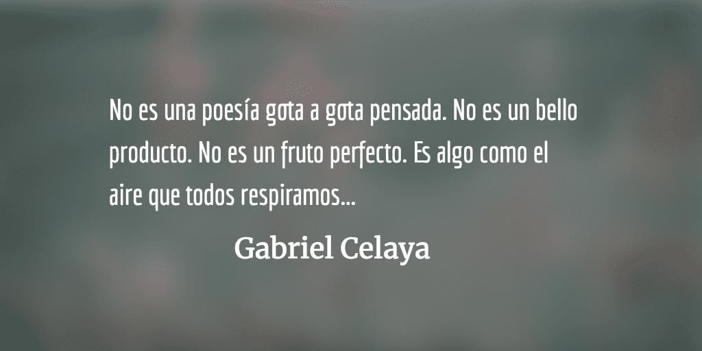 La poesía es un arma cargada de futuro, de Gabriel Celaya. Interpreta María Berasarte.
