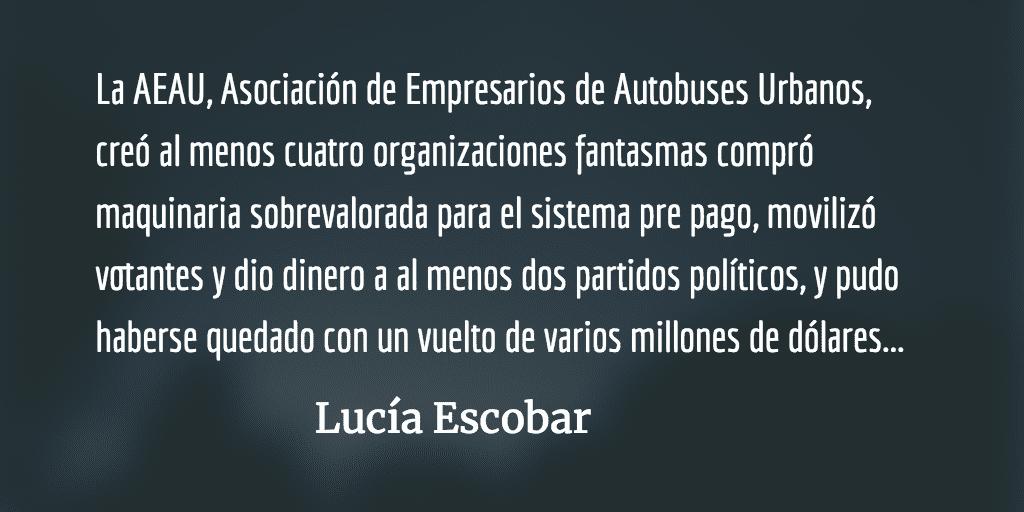 Transas en el Transurbano. Lucía Escobar.