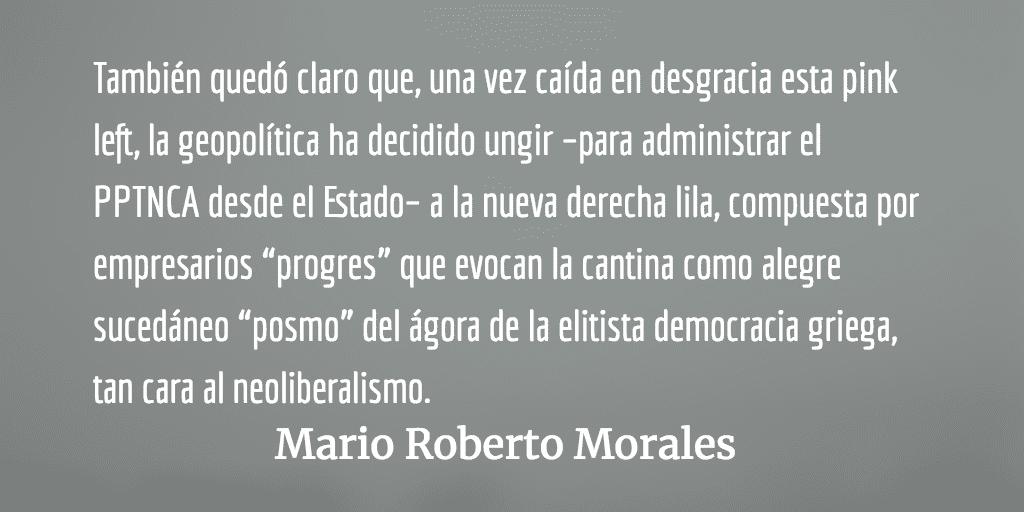 Qué está pasando y qué se está haciendo. Mario Roberto Morales.