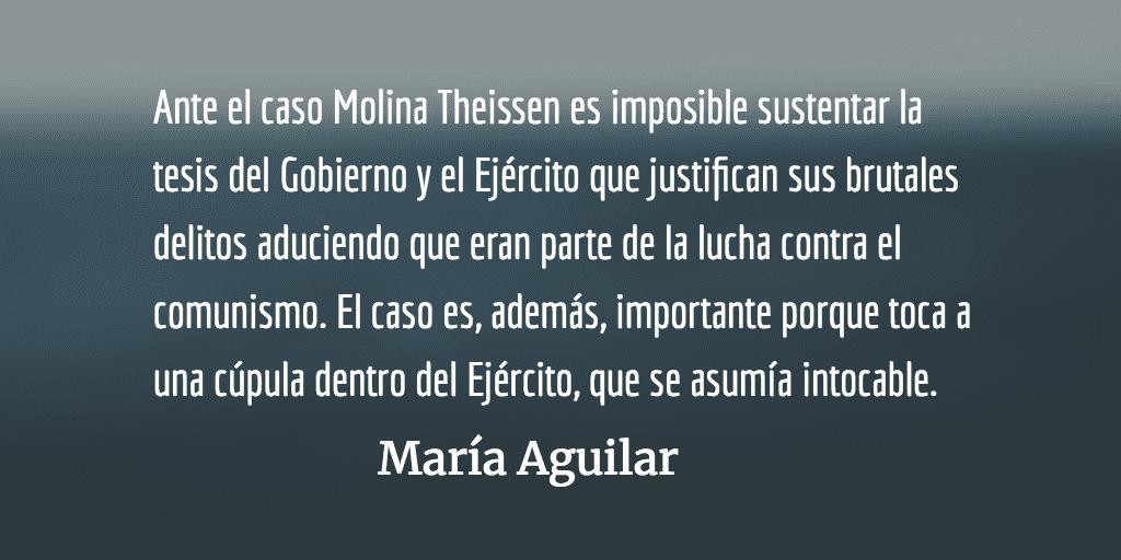 Emma y Marco Antonio Molina Theissen. María Aguilar.