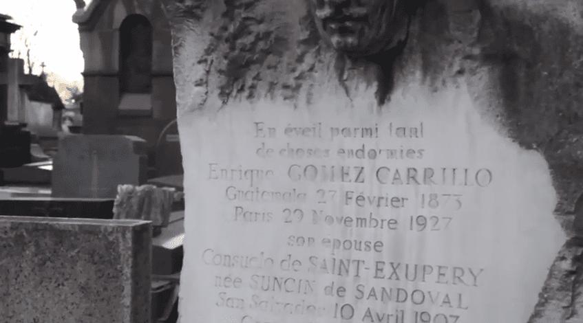 Sepultura en París de Enrique Gómez Carrillo