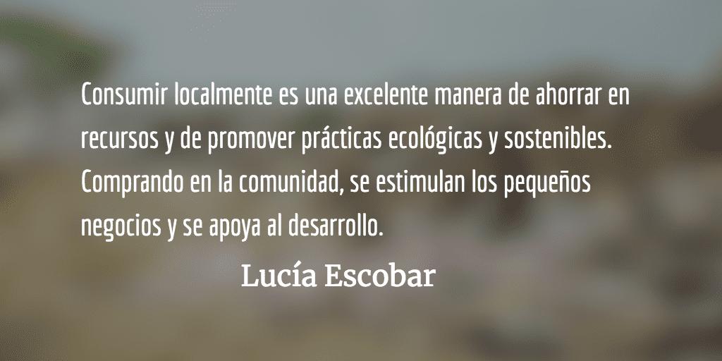Santo consumo, santa basura. Lucía Escobar.