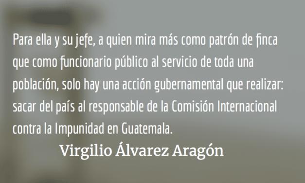 Canciller, celestina o matrona. Virgilio Álvarez Aragón.