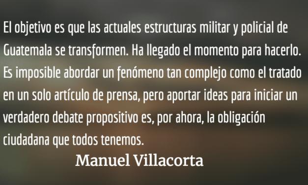 El ABC de la seguridad ciudadana. Manuel Villacorta.