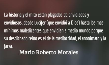 Retrato hablado de la envidia. Mario Roberto Morales.